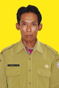 Petugas Keamanan Kantor . NAMA; NASRULLAH. NIP. 19811230 200701 1 004. GOL. DRH;