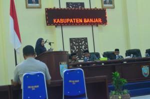 Rapat Paripurna DPRD Kabupaten Banjar