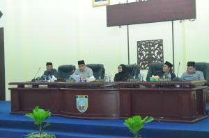 Rapat Paripurna DPRD Kabupaten Banjar 27 Maret 2017
