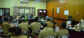 Rapat Komisi II DPRD Kabupaten Banjar, Selasa, 04 April 2017