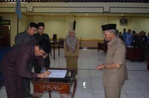 Rapat Paripurna DPRD Kab. Banjar Senin, 19 Juni 2017