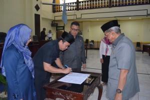 Rapat Paripurna DPRD Kab. Banjar, 26 Juli 2017