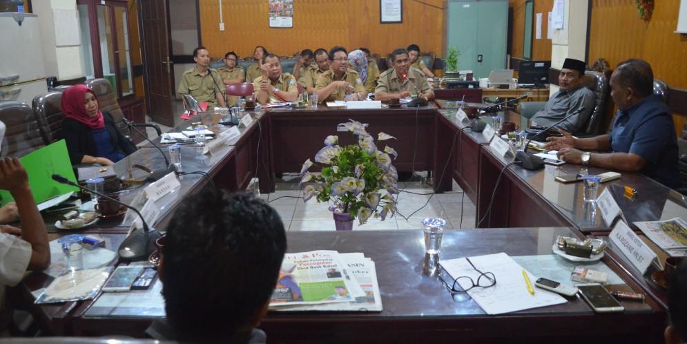 Rapat Komisi III DPRD Kab. Banjar, 01 Agustus 2017