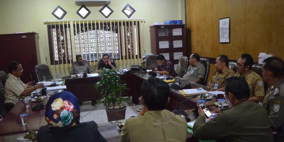 Rapat Komisi I DPRD Kab. Banjar, 01 Agustus 2017