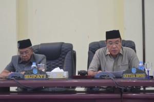 Rapat Paripurna DPRD Kab. Banjar, Selasa 15 Agustus 2017