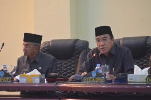 Rapat Paripurna DPRD Kabupaten Banjar, Kamis 31 Agustus 2017