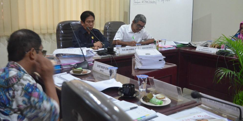 Rapat Komisi IV DPRD Kabupaten Banjar, 04 September 2017