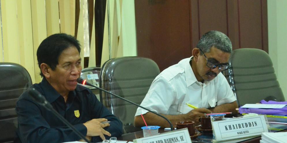 Rapat Komisi IV DPRD Kabupaten Banjar, Senin 02 Oktober 2017