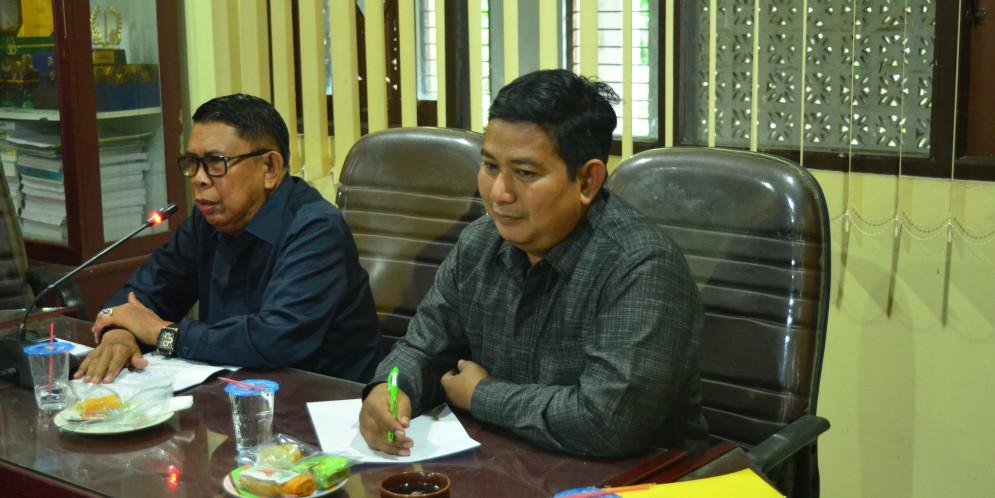 Rapat Komisi II DPRD Kabupaten Banjar, 03 Januari 2018