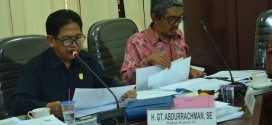 Rapat Komisi IV DPRD Kabupaten Banjar, 11 Januari 2018