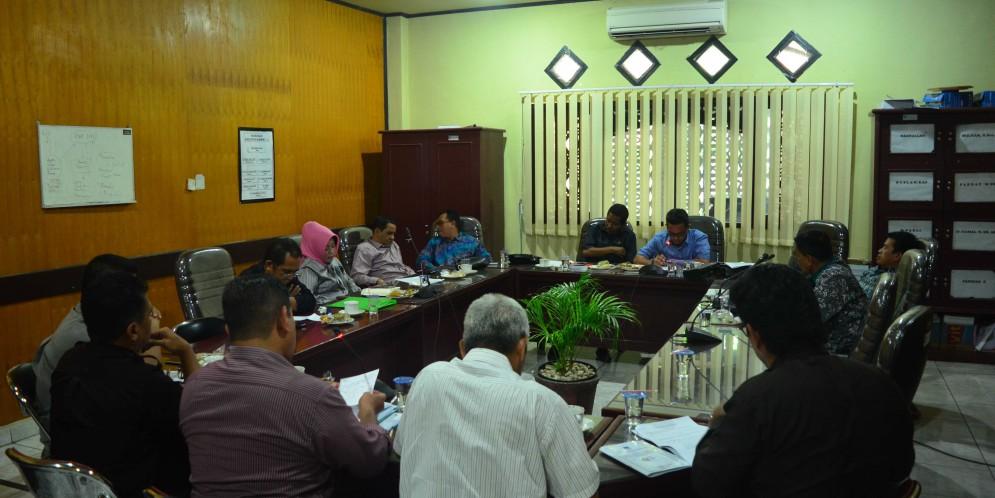 Rapat Komisi I DPRD Kabupaten Banjar, 23 Januari 2018