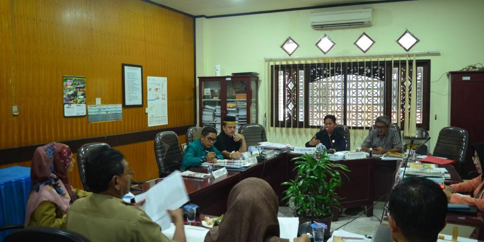 Rapat Komisi IV DPRD Kabupaten Banjar, 3 Maret 2018