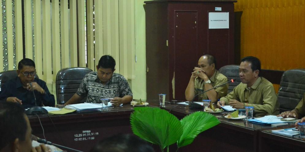 Rapat Komisi II DPRD Kabupaten Banjar, 3 April 2018