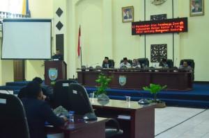 Rapat Paripurna DPRD Kabupaten Banjar, 12 Juli 2018