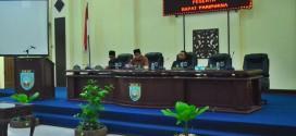 Rapat Paripurna DPRD Kabupaten Banjar, 16 Juli 2018